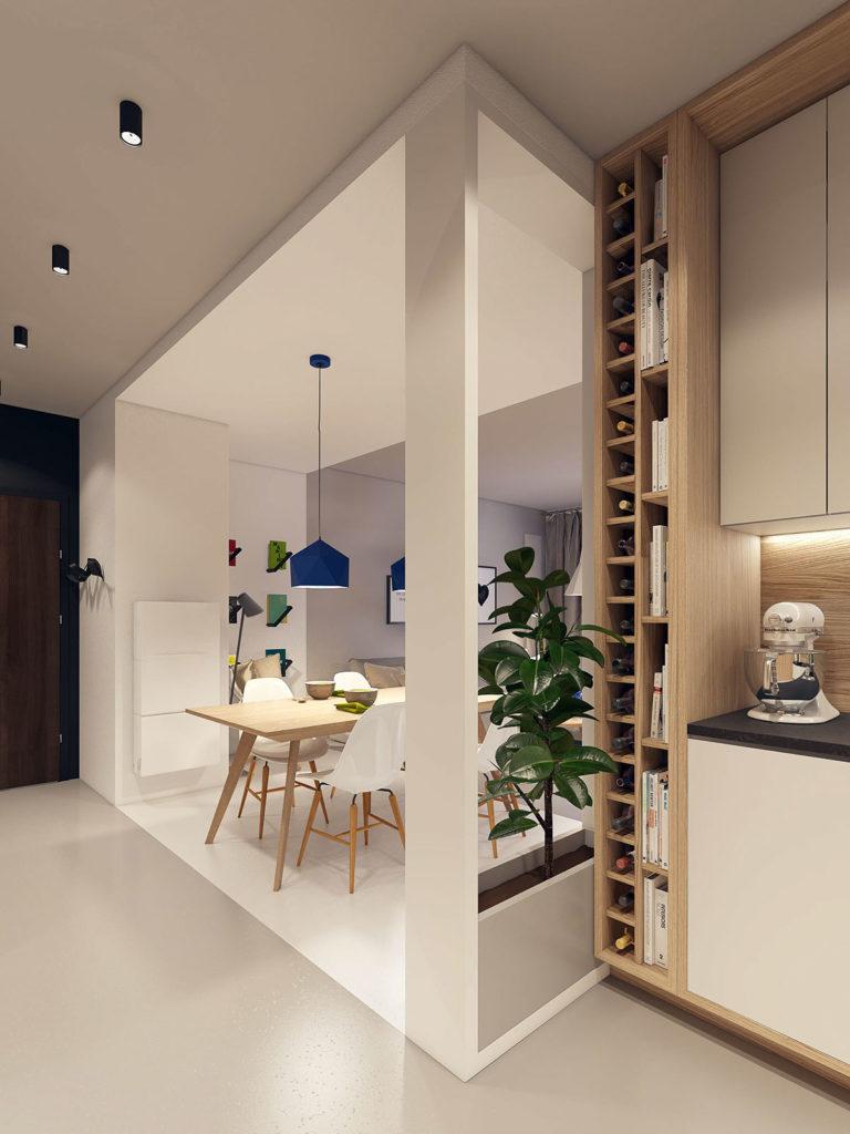 Design in luce for Mobilya cucine