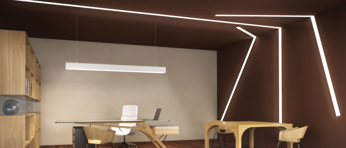 Sistemi design in luce for Illuminazione led a soffitto
