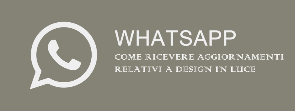 Whatsapp Design in Luce
